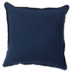Check out this item at One Kings Lane! Novice Pillow, Navy