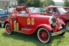 """Pi Kappa Alpha . PIKES 1925 CHEVY FIRE TRUCK .  Many Stories getting the IOWA STATE Cheerleaders around on game days + """"ARMY"""" + HERALD keeping it running !!!  I'm looking for ours !"""