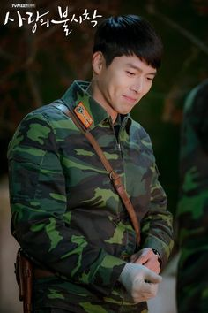 Crash Landing On You-Hyun Bin-Korean Drama-Subtitle Hyun Bin, Jung Hyun, Kim Jung, Asian Actors, Korean Actors, Drama Stage, Netflix, Hidden Movie, W Two Worlds