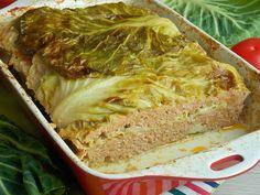 Cabbage Rolls, Polish Recipes, Meatloaf, Lasagna, Pork, Healthy Recipes, Dinner, Vegetables, Cooking