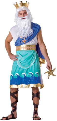 –Poseidon Costume | Neptune Halloween Costume