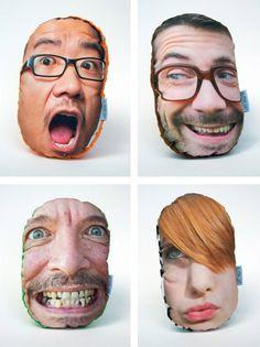 Pillow Mob – dein Gesicht auf nem Kissen on http://www.drlima.net