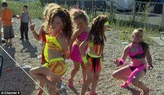Gypsie slut dancing in bucharest club 2