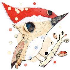 Pajarito, ilustración de Gustavo Aimar