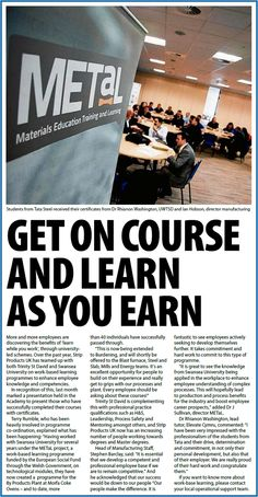 The METaL Project, engineering, Wales, Funded training, upskilling.