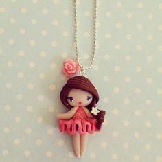 Collier Petite danseuse étoile - Ana : Collier par madame-manon