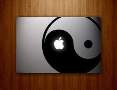 Yin Yang Decal  YinYang Decal  Vinyl MacBook Decal by DecalLab, $14.95