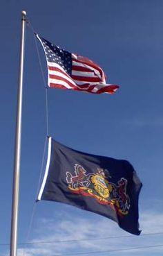 penn flag