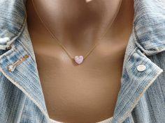 Collar de ópalo collar ópalo collar de ópalo rosa por OpaLand