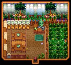 Stardew Farms, Stardew Valley Farms, Stardew Valley Layout, Stardew Valley Tips, Farm Layout, New Animal Crossing, Witch House, Geek Stuff, Terraria