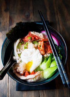lobster miso ramen recipe | use real butter
