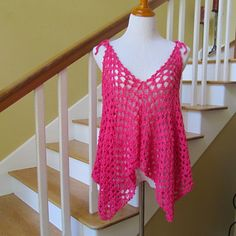Ravelry: LBK63's Pretty in Pink Summer Top