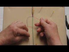 ▶ Micro Macrame Basics - Video 4 - Twisted Knot - YouTube