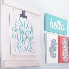 I love being able to switch out my inspirational prints with my @justaddsunshineinc board! This print by @georgiepearldesigns is definitely one of my favorites!
