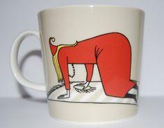 Fillyjonk Moomin mug Moomin Mugs, Tove Jansson, Mumi, Coffee Cups, Fairy Tales, Fancy, My Love, Troll, Tea