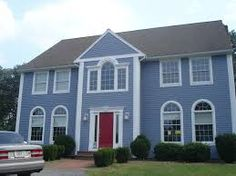 Exterior Paint Colors Blue new orleans house paint colors: periwinkle blue, white and yellow