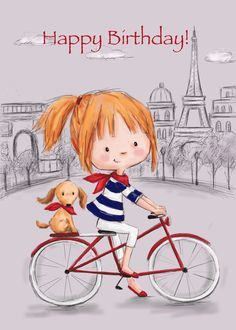 Happy Birthday Bicycle, Happy Birthday Cousin, Funny Happy Birthday Meme, Happy Birthday Wishes Cards, Happy Birthday Beautiful, Birthday Blessings, Happy Birthday Images, Birthday Pictures, Birthday Cards