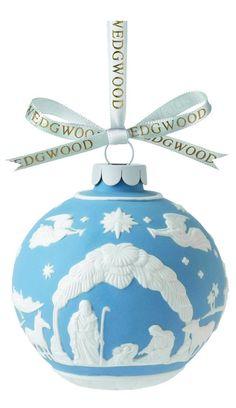 Wedgwood 2013 Christmas Tree Nativity Scene Ornament - Christmas - kerstmis - holidays
