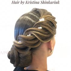 Hair by Kristina Shinkariuk #hairdresses #hairstyle #hair #kristinashinkariuk #dancesport #dancehair #imagemaximum #ballroom #dancecompetition #beauty #muah #make-up #hairstylist #wdsf #прическа #прическадлятанцев #кристина_шинкарюк_иц #kristinashinkariuk #шинкарюк_кристина_иц