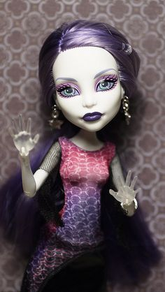 mhghouls:    Monster High Picture Day Spectra Vondergeist doll by i1473 on Flickr.