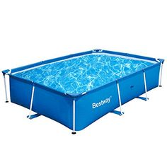 Bestway 118 x 79 x 26 Inches 871 Gallon Deluxe Splash Frame Pool | 56498 https://bestpatioheaterreviews.info/bestway-118-x-79-x-26-inches-871-gallon-deluxe-splash-frame-pool-56498/