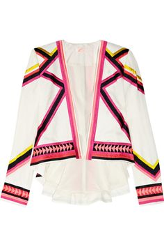 Sass & bide  Love Assembly embroidered twill jacket  £560