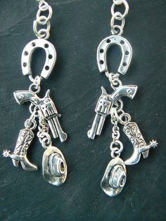 Hey, I found this really awesome Etsy listing at https://www.etsy.com/listing/180136881/country-western-earrings-pistol-boot