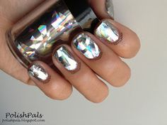 Holographic Mirror Nails <3