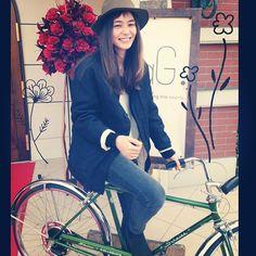 竹下 玲奈 @renatakeshita 自転車買ったよ〜Instagram photo   Websta (Webstagram)
