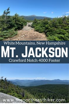 Hike Mount Jackson in New Hampshire's White Mountains. This NH 4000 footer offers amazing views of Crawford Notch and Mt. Plus, options for a loop hike or overnight. Hiking Spots, Hiking Tips, Camping And Hiking, Backpacking, Scotland Hiking, Waterfall Trail, Manchester New, Beach Trip, Beach Travel