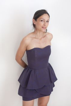 Robe Simplicity Leanne Marshall 1876 en coton Atelier Brunette