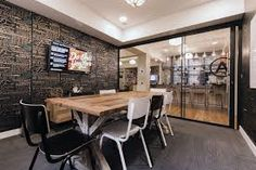Guaranteed Conference Room Design Inspiring Office Meeting Rooms Reveal Their Playful Designs Room Interior Design, Design Furniture, Home Office Design, Wework London, Conference Room Design, Office Meeting, Meeting Rooms, Office Bar, Office Decor