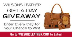 Wilson Leathers Gift-a-Day Giveaway! {US} (11/19/2016)... sweepstakes IFTTT reddit giveaways freebies contests