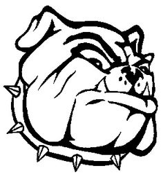 Bulldog Coloring Pictures | Georgia Bulldogs Coloring Pages