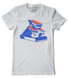 """Instant Classic"" Rad Polaroid SX-70 shirt by Dodge & Burn"