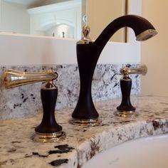New Charlotte Brizo faucet.