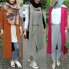 fall hijab styles, Fall stylish hijab street looks… Hijab Fashion 2016, Street Hijab Fashion, Modest Fashion, Girl Fashion, Fashion Outfits, Tokyo Fashion, Stylish Hijab, Hijab Chic, Casual Hijab Outfit