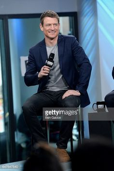 News Photo : Actor Philip Winchester attends the Build Series...