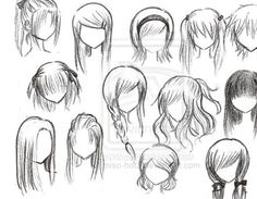 I Cant Wait To Share My New Character Drawing Class With You All - Anime hairstyle names