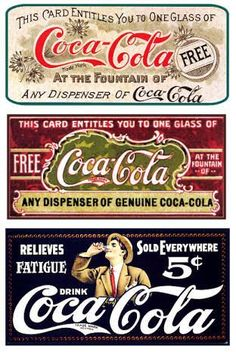 At the fountains of Coca Cola Vintage signs Coca Cola Poster, Coca Cola Drink, Cola Drinks, Coca Cola Ad, Always Coca Cola, Coke Ad, Coca Cola Bottles, Vintage Coca Cola, Pub Vintage