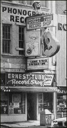Ernest Tubb Record Shop; Nashville, TN - on our 25th wedding anniversary trip in 1994.