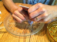 How to Make Inexpensive Flower Plate Garden Art | Business 2 Community