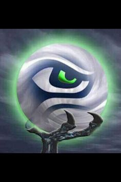 The eye of the storm! Go Hawks!