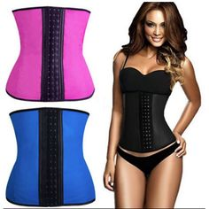 66b62e8fd09 Good Women Lady Cincher Zipper Gancho Corset Rubber Shapewear Smooth Latex  Be Waist Cincher
