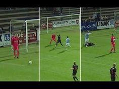 Goalkeeper Catches His Own Goal-Kick [VIDEO]