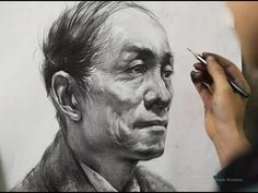 How to Draw Portrait of Old men - YouTube