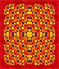 Sunset Sail Quilt Pattern SDD-101: Quilt Patterns, ePatterns, AccuQuilt Patterns | QuiltWoman.com