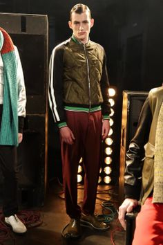 Image - Jonathan Saunders @ London Menswear A/W 2014 - SHOWstudio - The Home of Fashion Film