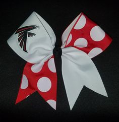 Atlanta Falcons Cheer Bow NFL Football Cheer Bows