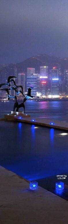 Intercontinental Hong Kong. HONG KONG Special   Administrative Region of CHINA  AAARGH alien INVASION ...kidding